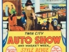 Twin City Auto Show poster